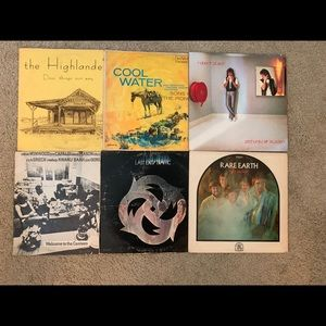 23 Antique Vinyl Records